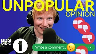 """You're NOT original..."": Ed Sheeran Unpopular Opinion"