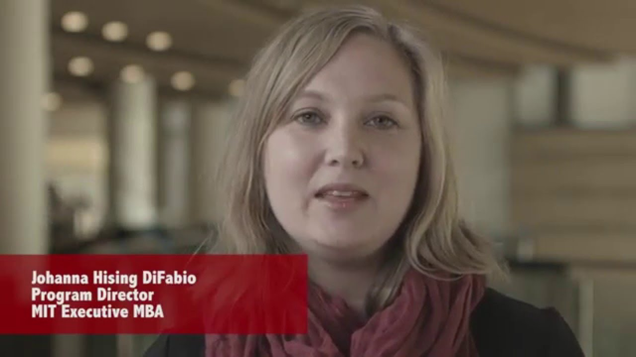 The Mit Executive Mba An Iterative Learning Experience Youtube