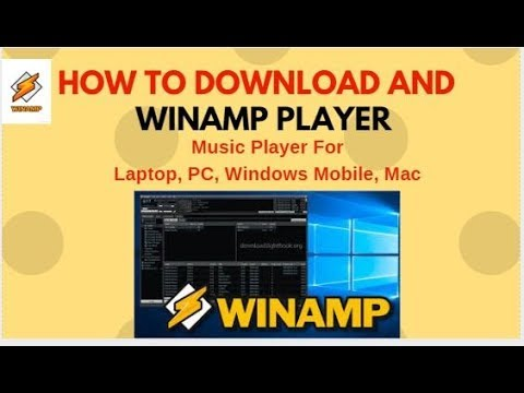 Best Winamp Music Player Software| Download and install | Easy to way |  Audio/Video Player