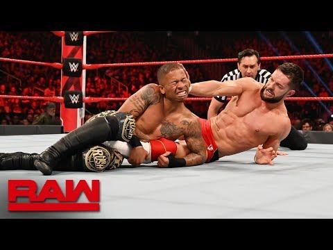 Finn Bálor vs. Lio Rush - Intercontinental Championship Match: Raw, Feb. 25, 2019