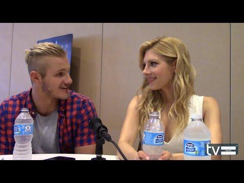 Vikings Season 3: Alexander Ludwig & Katheryn Winnick