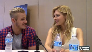 Vikings Season 3: Alexander Ludwig & Katheryn Winnick Interview