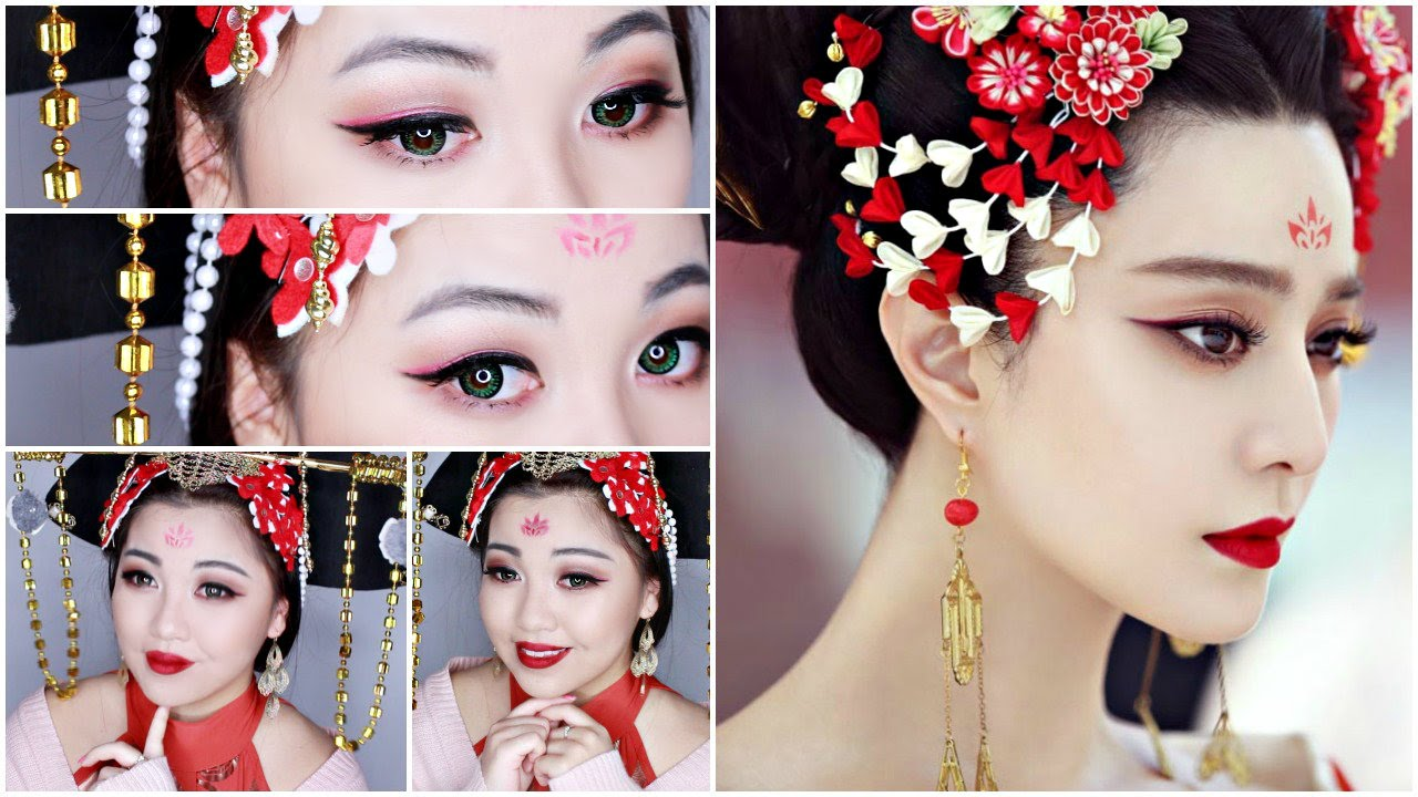 Fan Bingbing The Empress Of China Makeup Tutorial Youtube