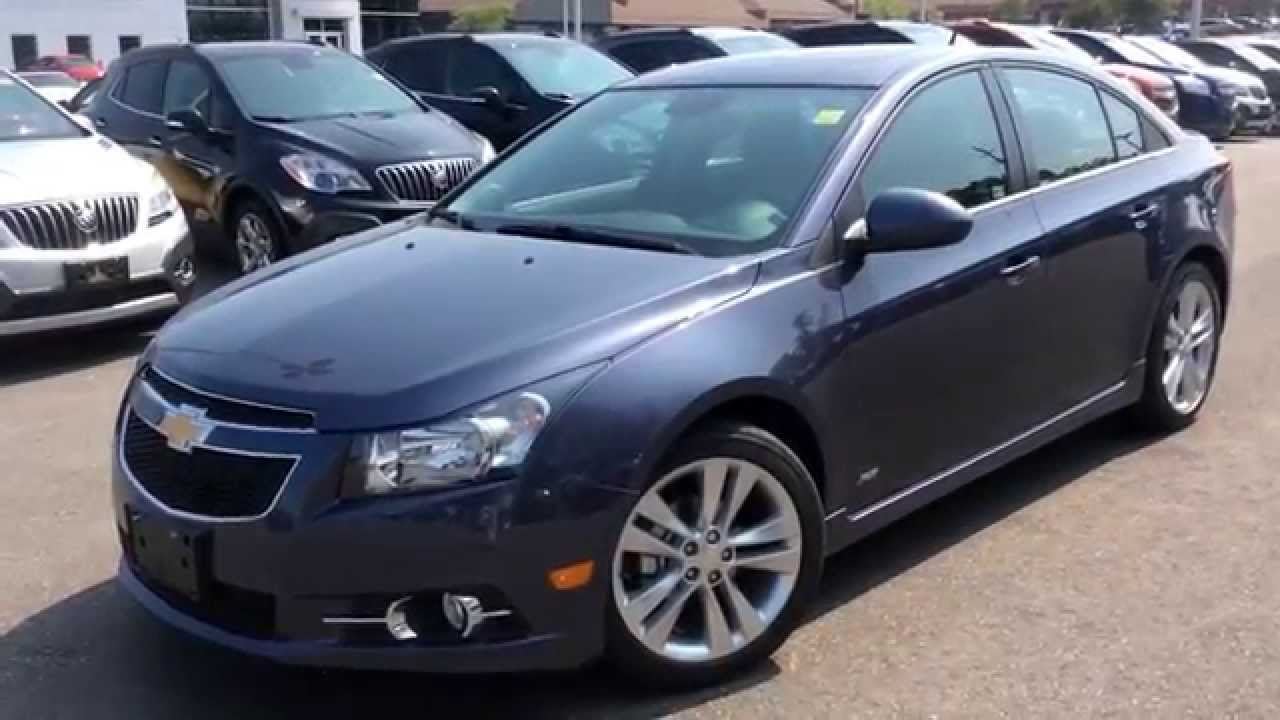 2014 Chevrolet Cruze 2LT w/ RS Package Review | 140984 - YouTube