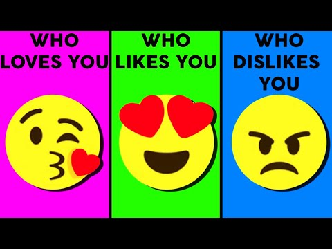 Who Loves You, Likes You, Dislikes You? Love Personality Test | Mister Test