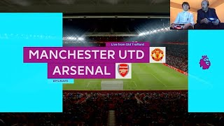 FIFA 19 PS4 | Manchester United v Arsenal | GAMEPLAY