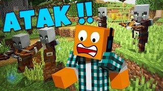 """Minecraft #366 -  """"Najazd na wioskę!"""""""