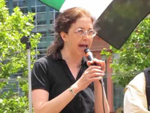 End the Siege of Gaza: Gloria La Riva