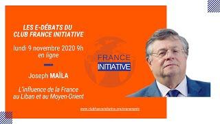 Les Débats du CFI : Joseph MAÏLA sur l'influence de la France au Liban et au Moyen-Orient