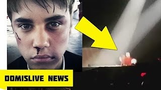 Бибер УПАЛ | РЕАКЦИЯ Адель | JUSTIN BIEBER FALLS REACT ADELE ON STAGE Show Purpose World Tour 2016
