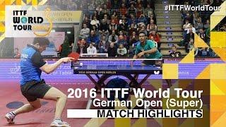 German Open 2016 Highlights: ASSAR Omar vs OVTCHAROV Dimitrij (R32)