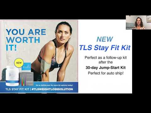 TLS 30 Day Jump Start and the TLS Stay Fit Kit Melanie Nelson