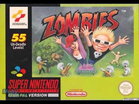 Zombies Ate My Neighbors   Stage Theme Zombie Panic