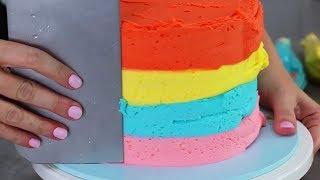 AMAZING RAINBOW CAKES & DESSERTS - Satisfying Recipe Compilation Video - YouTube