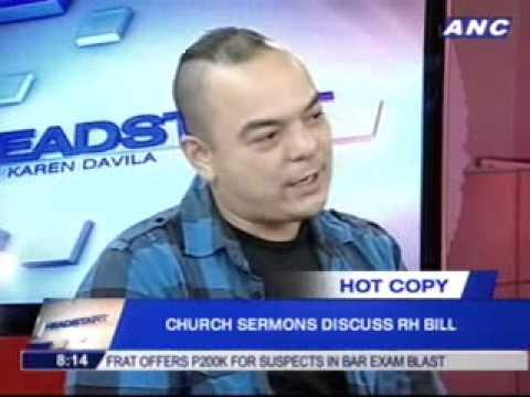 Mr. Carlos Celdran and the RH Bill [1/3]