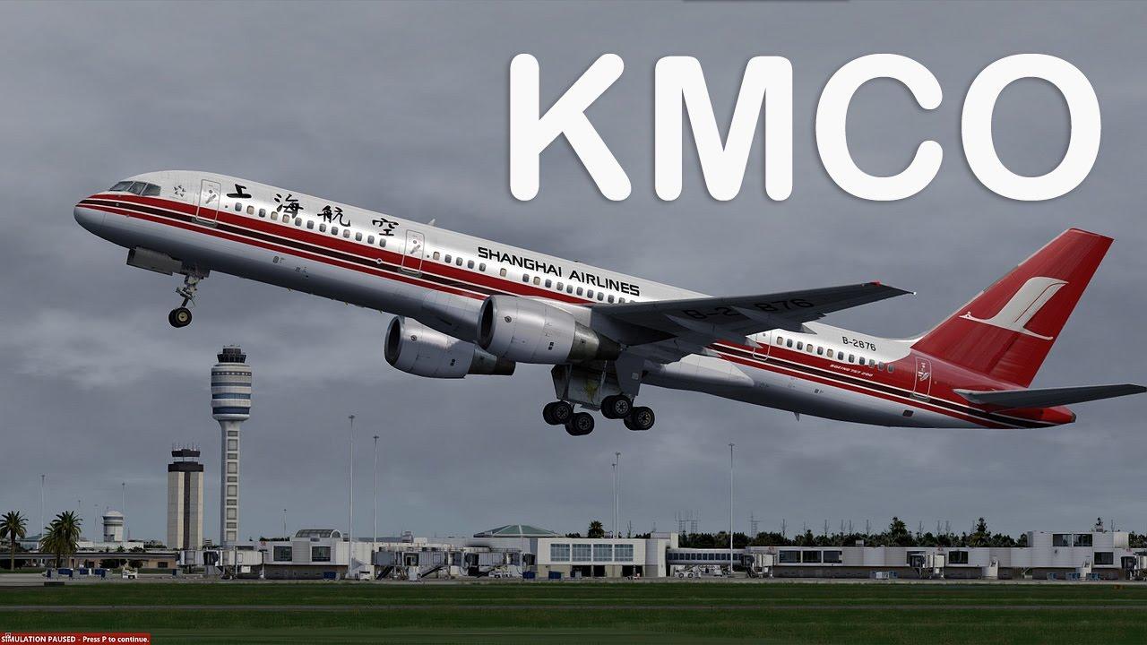 Prepar3D - Qualitywings 757-200 ILS approch KMCO
