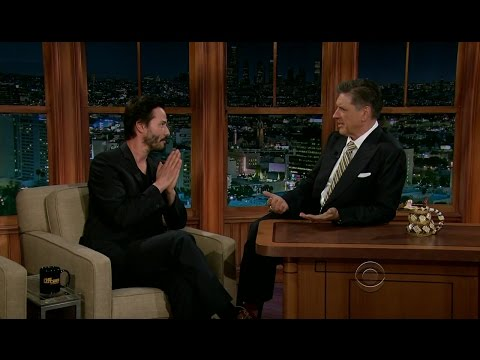 Late Late Show with Craig Ferguson 10/3/2012 Keanu Reeves, D