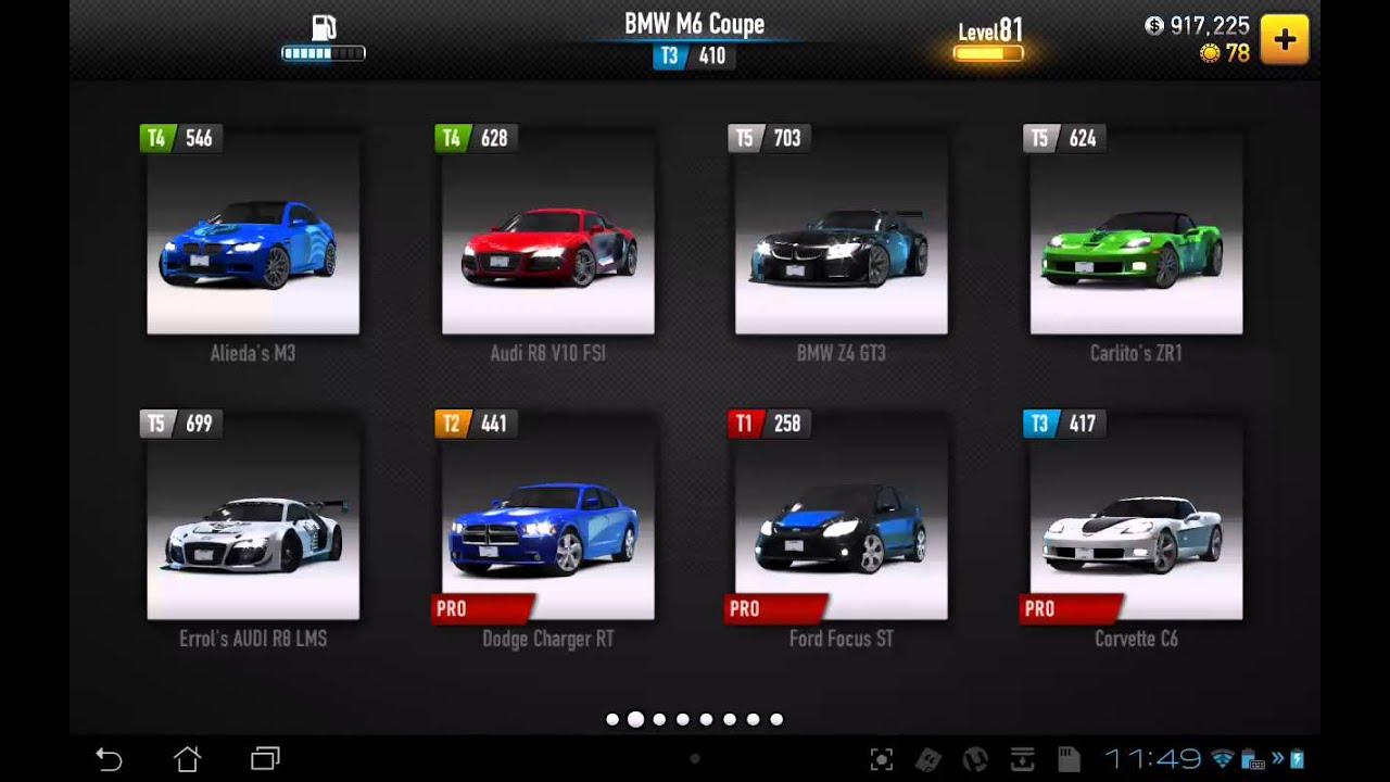 Csr Racing My Cars 21 Pro S Youtube