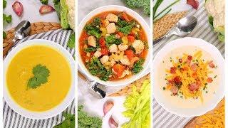 3 Low Carb Soup Recipes | Easy Fall Recipes