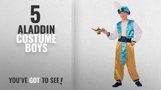 Top 10 Aladdin Costume Boys [2018]: Forum Novelties Arabian Prince Costume, Large