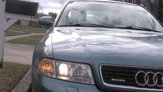 Driving a 1999 Audi A4 2.8 Quattro
