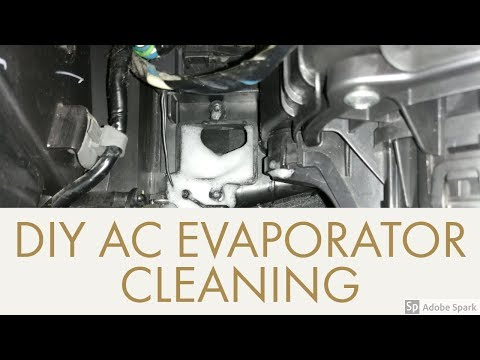 DIY: HOW TO CLEAN AC EVAPORATOR FOR HYUNDAI EON