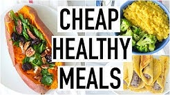 CHEAP HEALTHY MEALS UNDER $3! Healthy & Affordable Recipes! Cooking With Liv Ep.21