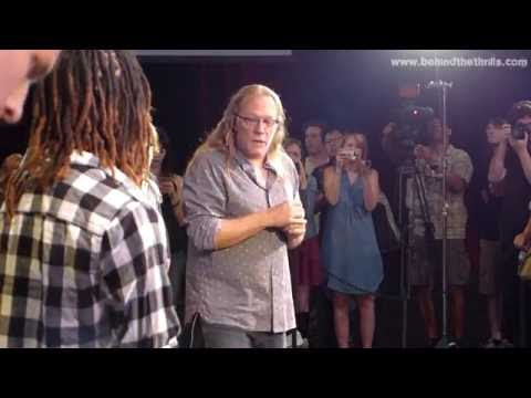 Greg Nicotero Teaches Walker Boot Camp at Universal Hollywood for New Walking Dead Attraction!