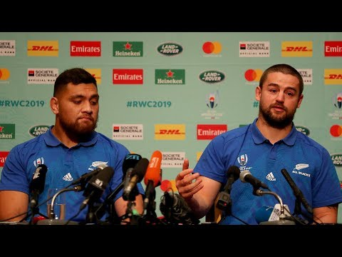 Behind The Scenes: All Blacks Press Conference (Tokyo)