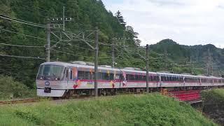 西武10000系10109F(HPTラッピング)東吾野~吾野通過
