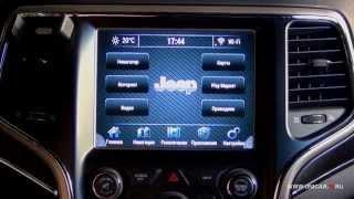 Jeep Grand Cherokee & QROI (Навигационный мультимедийный центр) OS Android