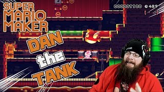 A WELL DONE DASHIE LEVEL?! - Super Mario Maker - Visiting DAN_the_TANK!