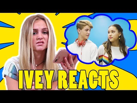 Ivey Reacts: Little Bit (MattyBRaps Ft Haschak Sisters)