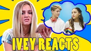Ivey Reacts: Little Bit (MattyBRaps ft Haschak Sisters)