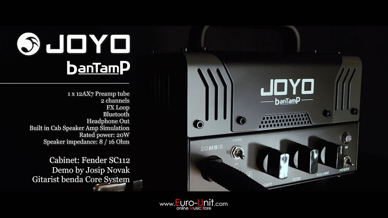 Check out the powerful sound of popular JOYO BanTamP guitar amps