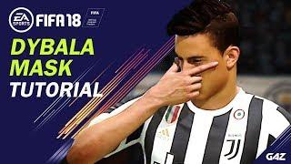 FIFA 18 TUTORIAL | COME FARE LA DYBALA MASK! [NEW CELEBRATION]