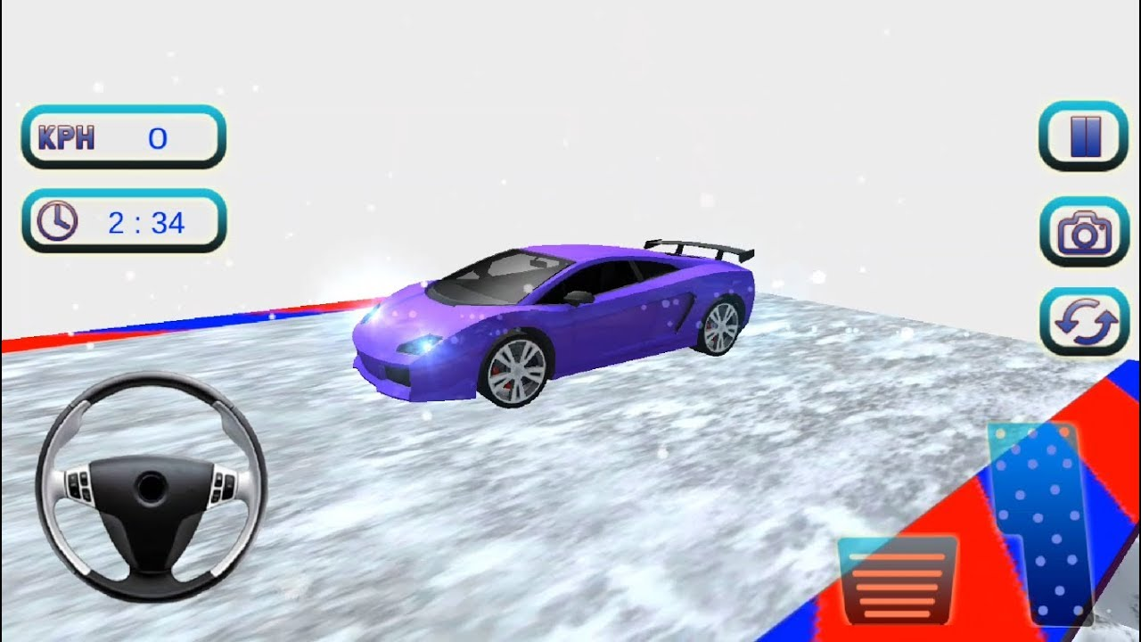 Extreme Stunts GT Racing Car | New CAR Impossible Stunts Red Car Driving - Android GamePlay HD