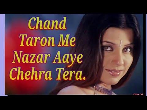 Dil Ke Aaine Mein  Chaand Taron Mein Nazar Aaye Chehara Tera  2 October    { Love For You }