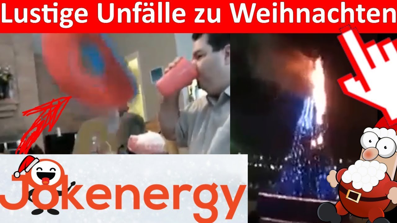 LUSTIGE UNFÄLLE ZU WEIHNACHTEN 🔥🎄🔥 FROHE WEIHNACHTEN LUSTIG ...