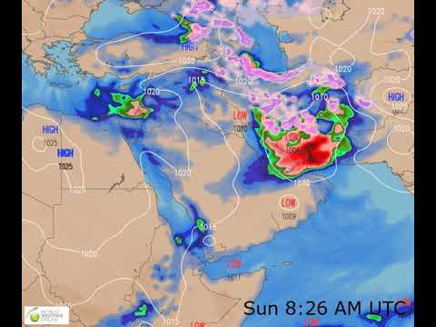 Middle East Weather Forecast HD: 10 Jan 2020 [Updated At 0000 Hours UTC]