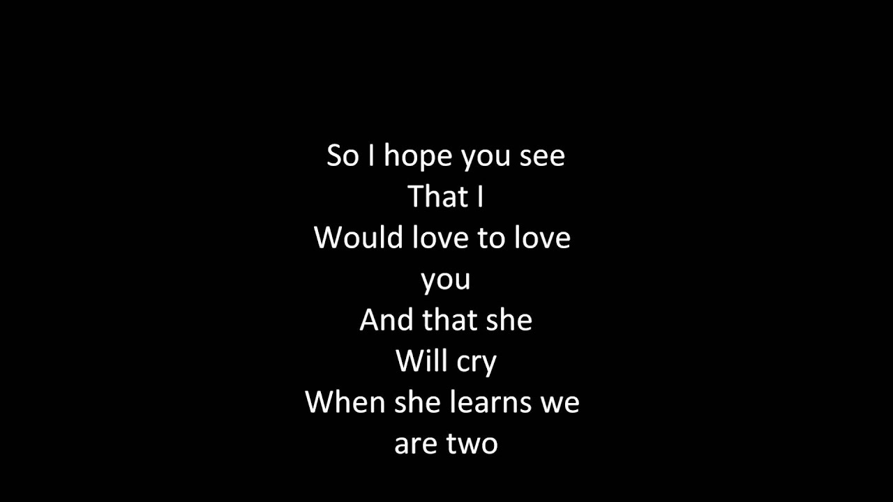 The Beatles - If I Fell Lyrics | MetroLyrics