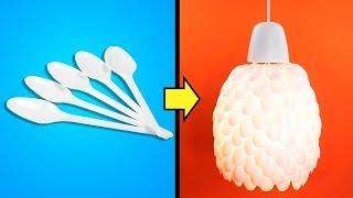 ١١ فكرة سهلة ولطيفة لإعادة التدوير