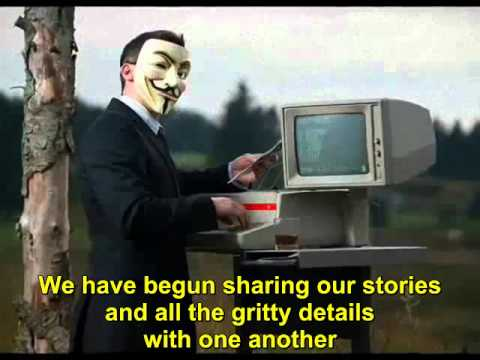 Anonymous: Resistance Begins NOW. System Failure: Imminent. [2011 06 03] [eng cc signs]