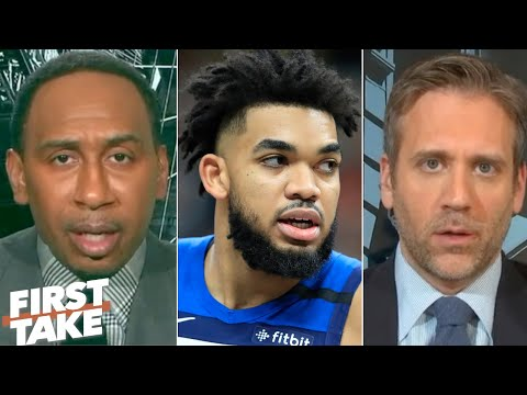 First Take Reacts To Karl-Anthony Towns Revealing His Mother's Battle With COVID-19 | First Take