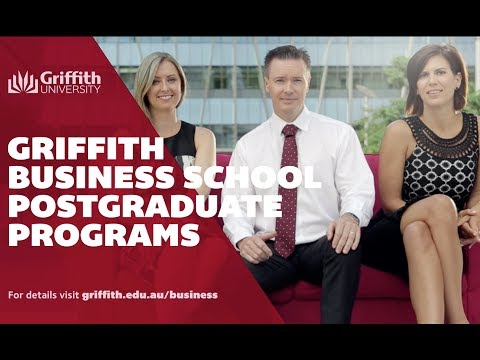 Griffith Business School postgraduate study
