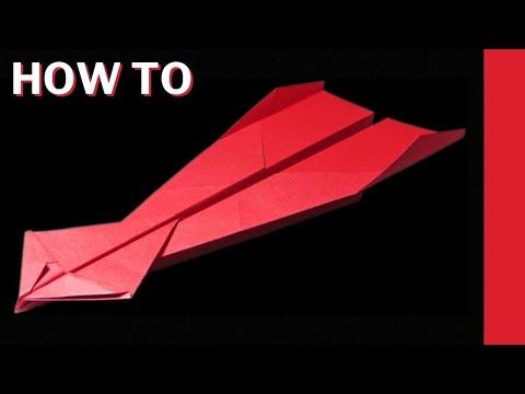 Papierflieger falten der weit fliegt - Beste Flieger selbst basteln mit Papier