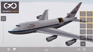 Infinite Flight - NASA B747 SOFIA [Opening Telescope Doors]
