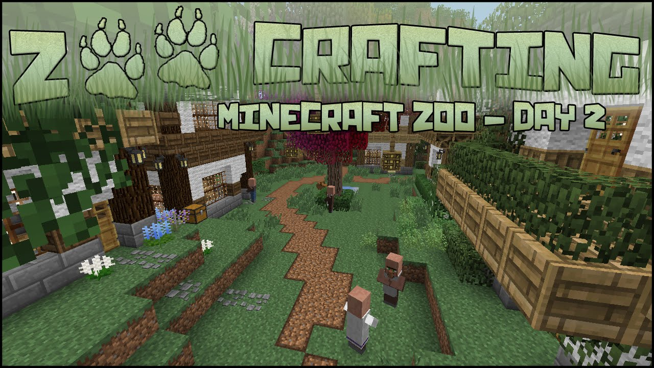 Visit to zomberry village zoo crafting season 2 for Crafting and building 2