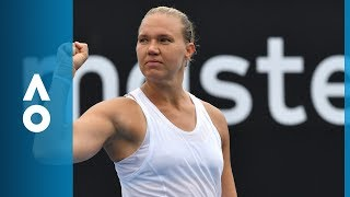 Dominika Cibulkova v Kaia Kanepi match highlights (1R) | Australian Open 2018