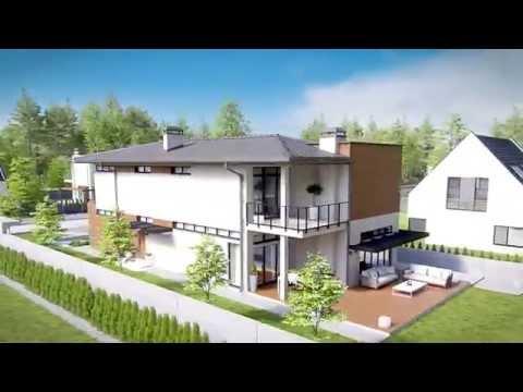Проект дома для узкого участка X11 от Архитектурной студии POLLIO